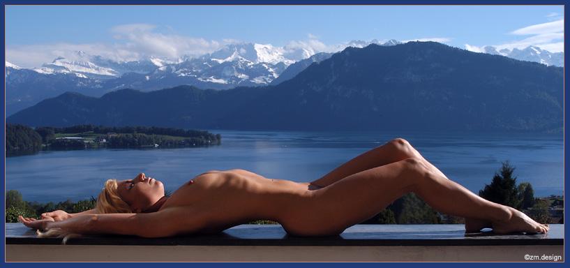 "фото ""GREETINGS FROM SWITZERLAND"" метки: ню, пейзаж, горы"