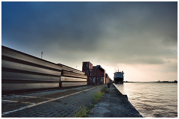 "фото ""Before the Flood"" метки: фотомонтаж, пейзаж, закат"