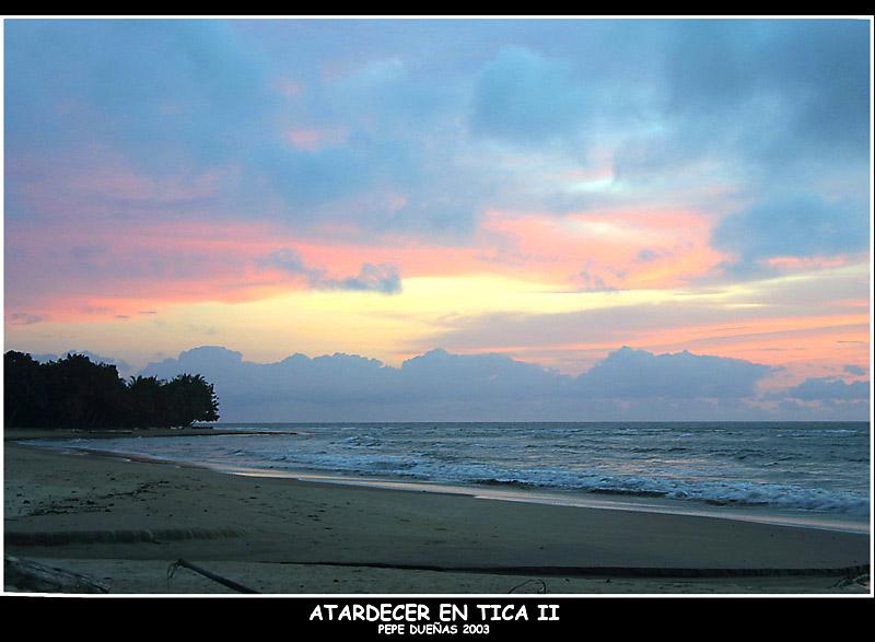 "фото ""Atardecer en Tica - Guinea Ecuatorial"" метки: разное,"