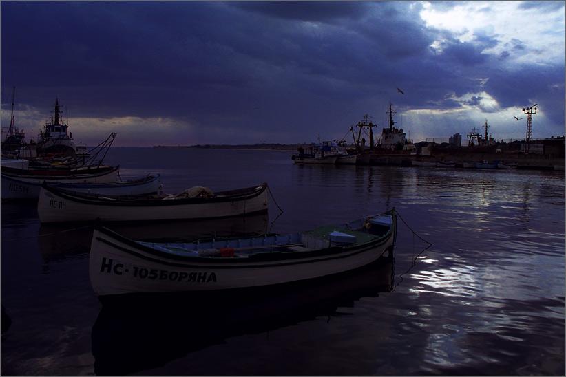 """фото """"Морской сюжет в низком ключе"""" метки: пейзаж, путешествия, Европа, вода"""