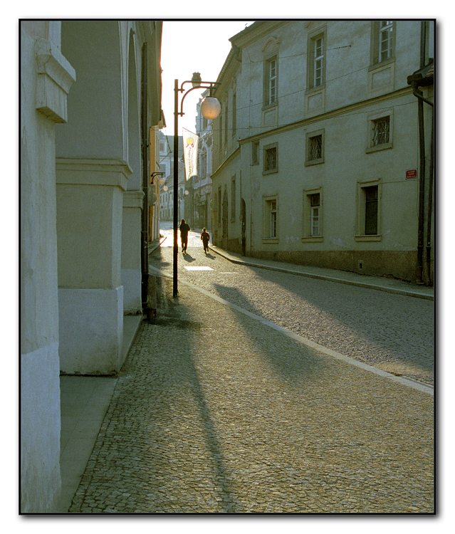 "фото ""Evening walk, long shadow"" метки: разное,"