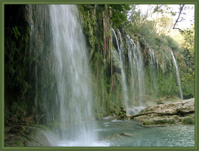 "фото ""Водопад Куршунлу, Турция"" метки: пейзаж, вода"