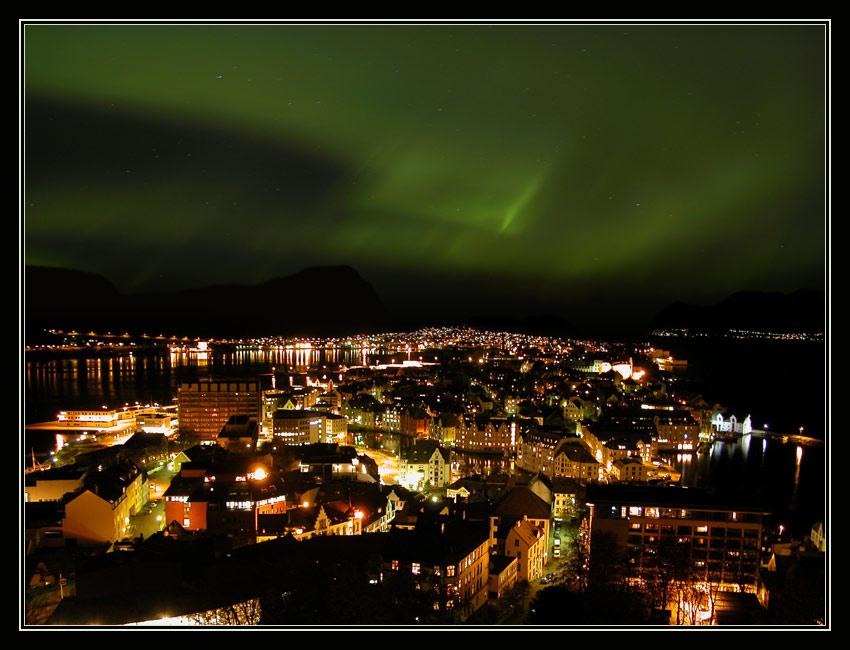 "фото ""aurora borealis - 2"" метки: пейзаж, архитектура, вода"