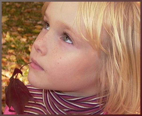 """фото """"Autumn thoughts..."""" метки: портрет, дети"""
