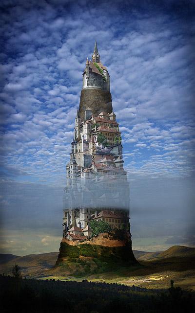 "фото ""Замок"" метки: фотомонтаж, digital art,"