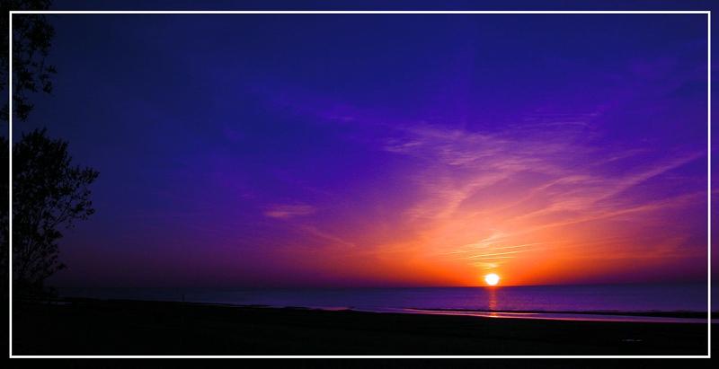 """фото """"Фантастический закат"""" метки: пейзаж, закат"""