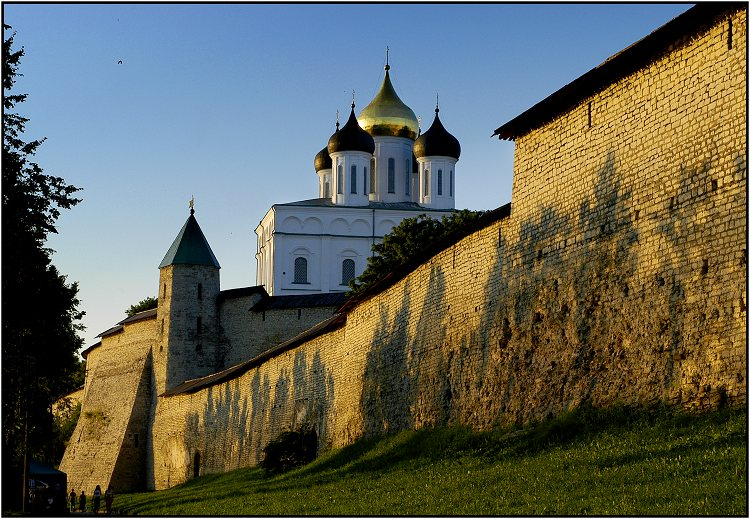 "фото ""Вечер у древних стен"" метки: архитектура, пейзаж,"