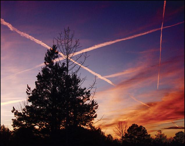 "photo ""`X`"" tags: landscape, clouds, sunset"