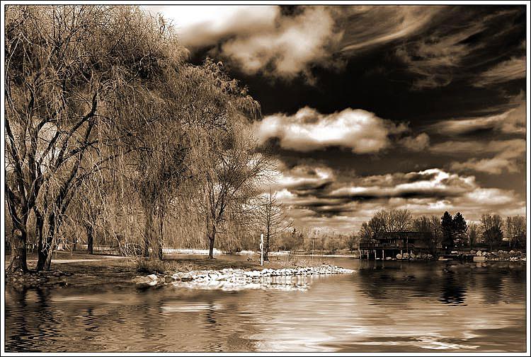 """фото """"Облачный апрель"""" метки: пейзаж, весна, облака"""