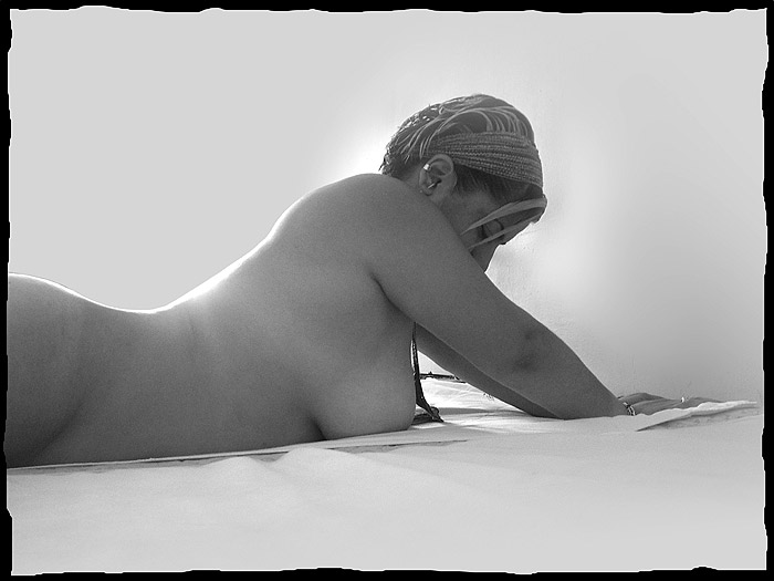 "photo ""Sexy in the Morning"" tags: nude, portrait, woman"