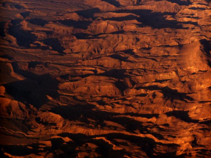 "photo ""Desert at Sunrise"" tags: travel, landscape, Africa, mountains"