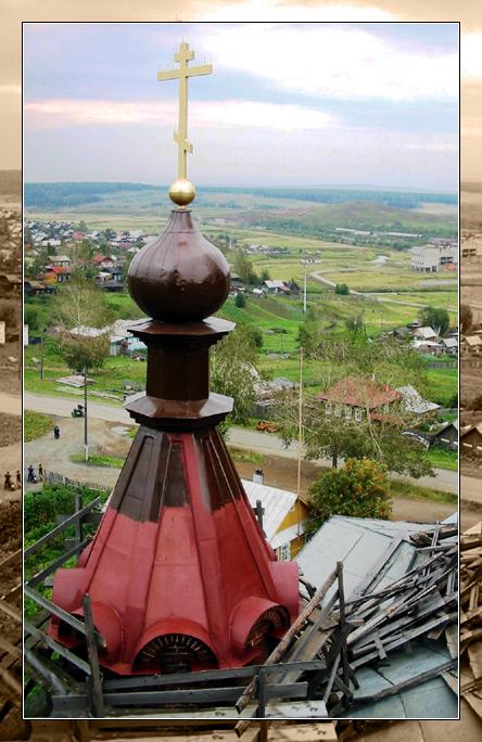 """фото """"над деревней"""" метки: жанр,"""