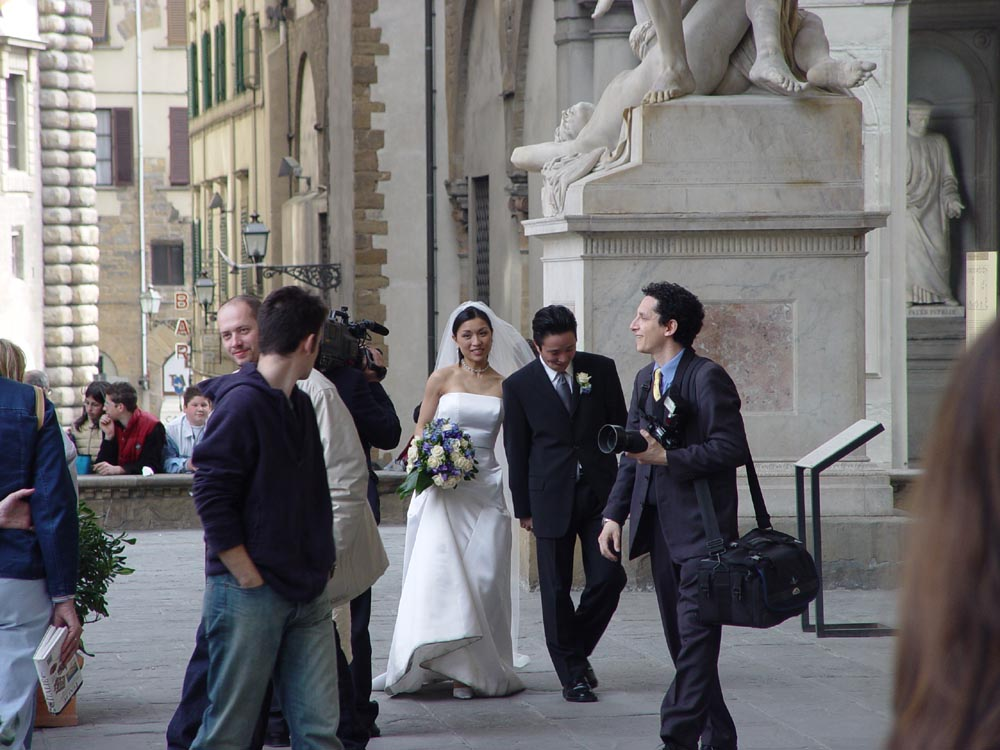 "photo ""Florence. A wedding."" tags: travel, genre, Europe"