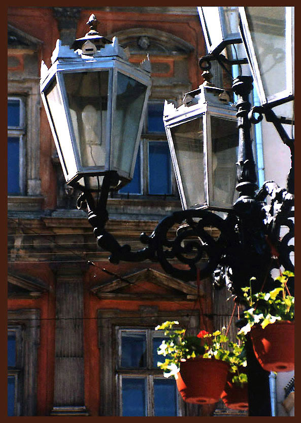 "photo ""Lanterns of old Lvov"" tags: architecture, travel, landscape,"