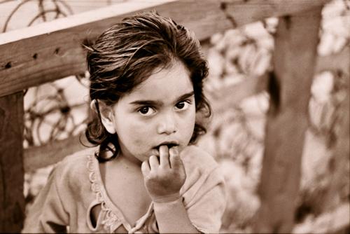 "photo ""Little girl"" tags: portrait, children"