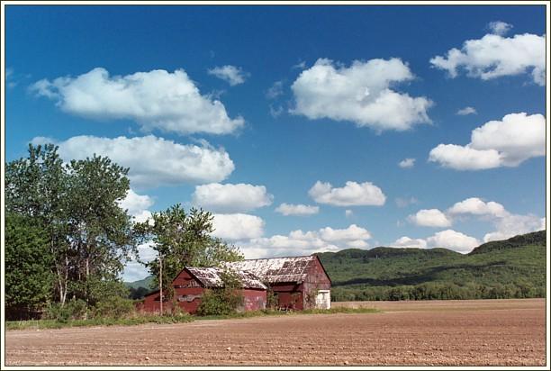 """фото """"Сельский пейзаж"""" метки: пейзаж, природа, облака"""
