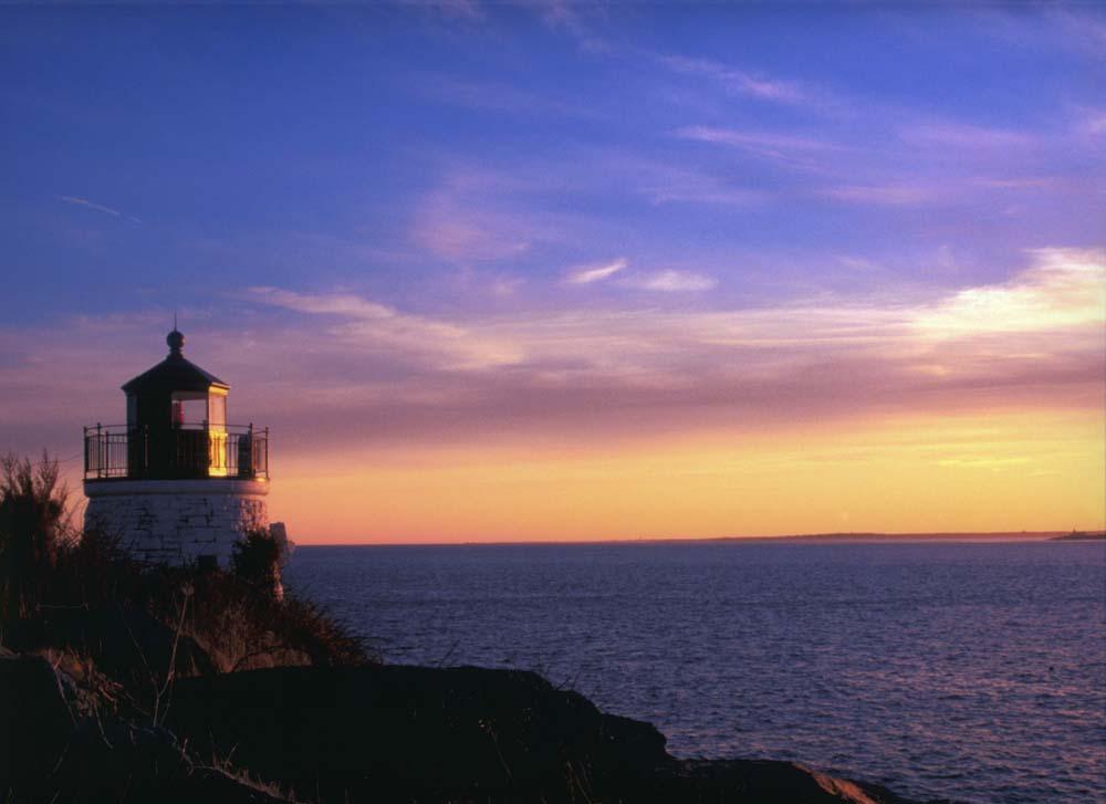 "photo ""sailors peace of mind"" tags: landscape, sunset"
