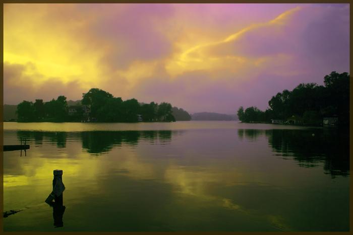 "photo ""Mahopac Lake III"" tags: misc.,"