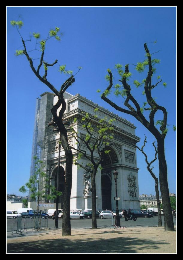 "photo ""Triumphal arch"" tags: architecture, travel, landscape, Europe"