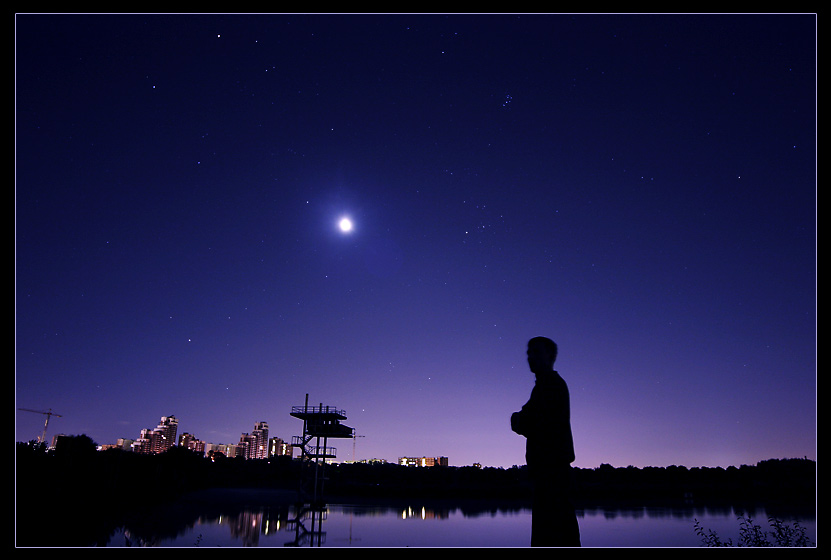 "photo ""Sky"" tags: landscape, night, water"