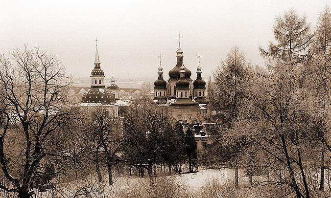 "photo ""Winter in Kiev"" tags: landscape, winter"