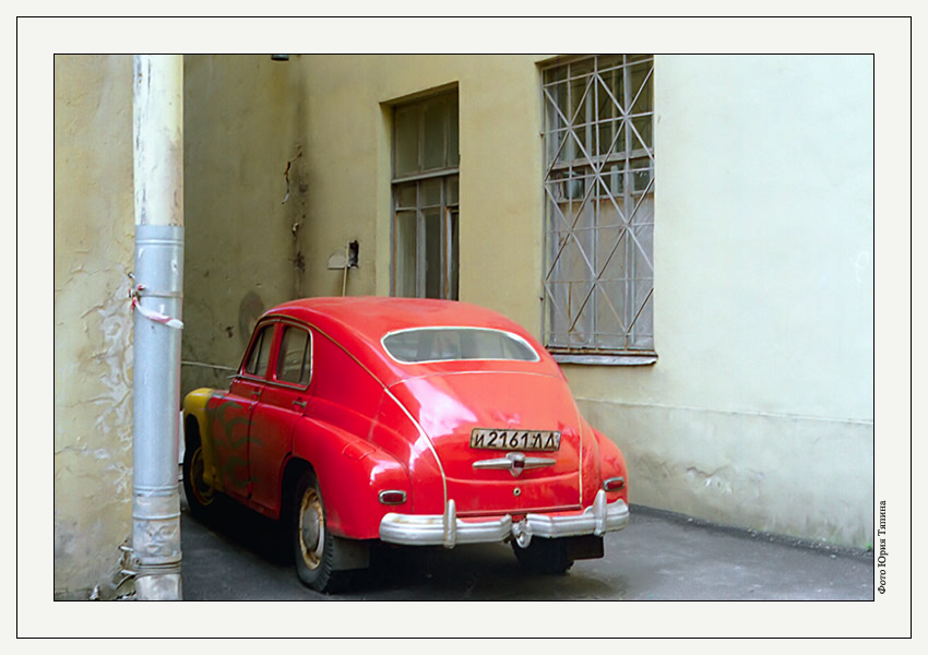 "photo ""Red Retro"" tags: architecture, travel, landscape, Europe"