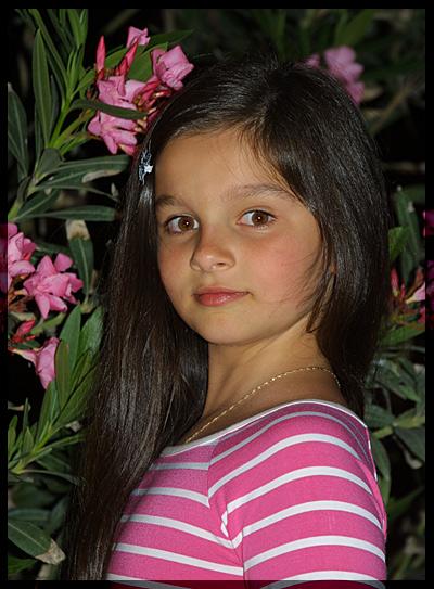 """фото """"Юная модель."""" метки: портрет, дети"""
