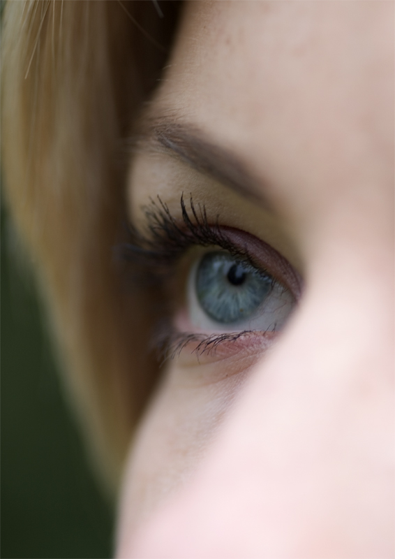 "photo ""eye"" tags: portrait, woman"