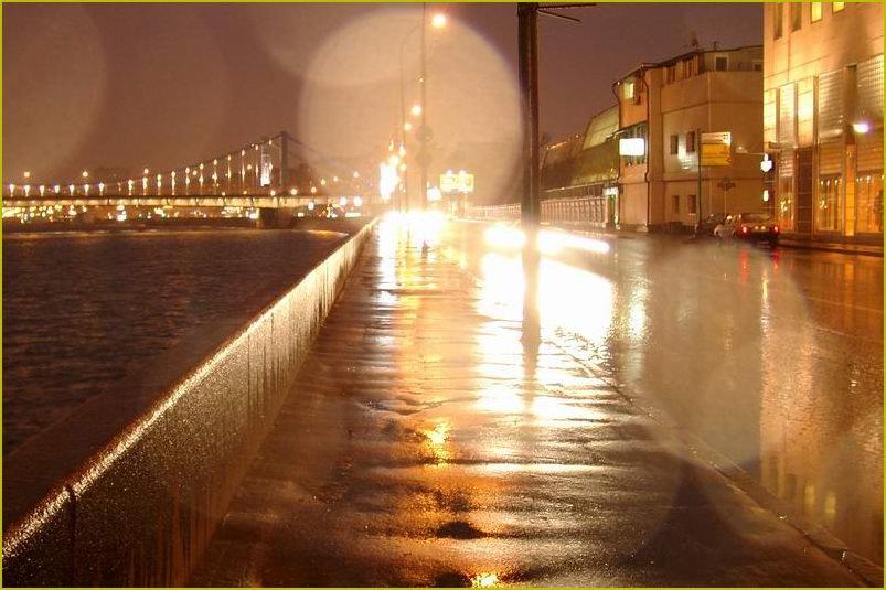 """фото """"Москва, вечер, дождь"""" метки: архитектура, пейзаж,"""