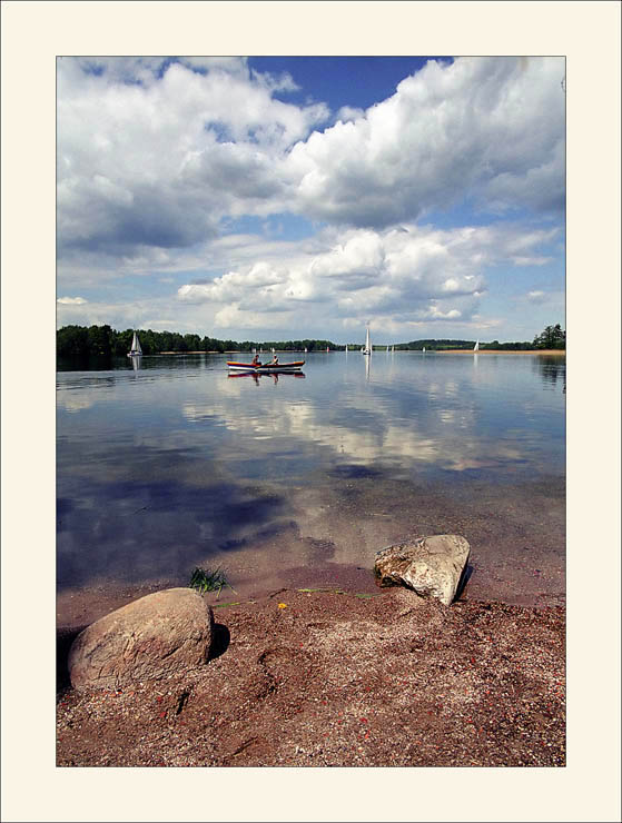 "photo ""The Idyl"" tags: landscape, clouds, water"