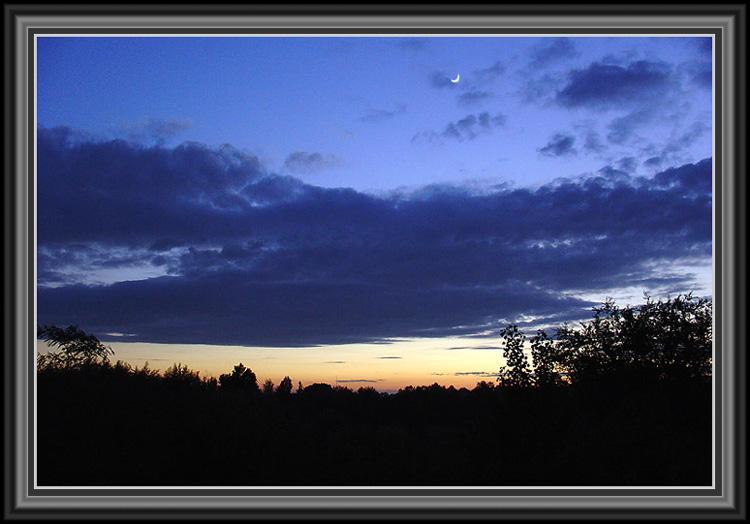 "photo ""After rain"" tags: landscape, sunset"