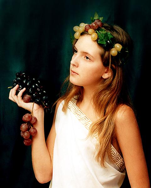 """photo """"Flora"""" tags: genre, portrait, woman"""