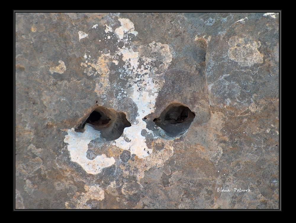 "photo ""stone eyes"" tags: nature,"