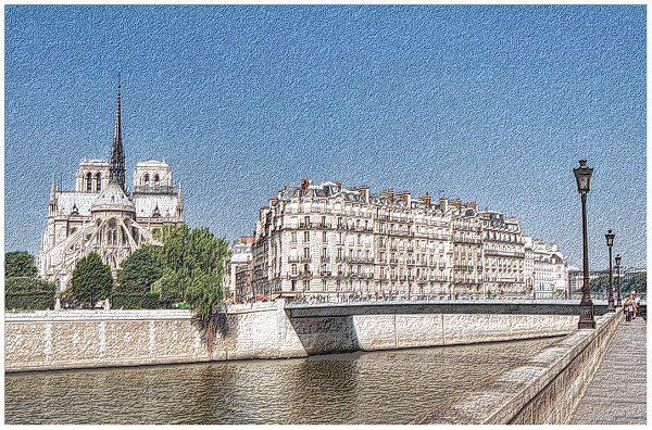 """photo """"Paris Revisited"""" tags: architecture, travel, landscape, Europe"""