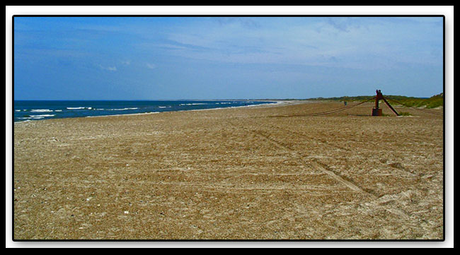 """photo """"Beach from Denmark"""" tags: travel, landscape, Europe, summer"""