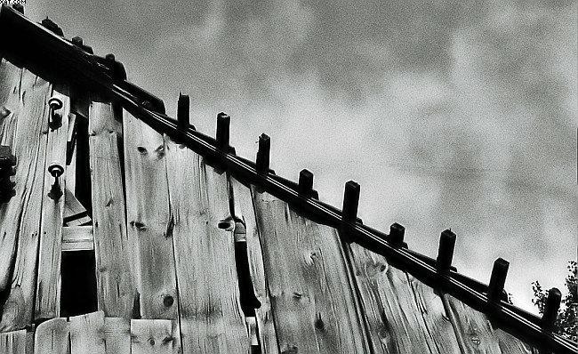 """photo """"grafit roof"""" tags: architecture, landscape,"""