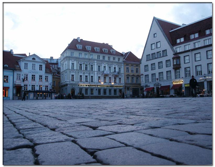 "photo ""Raekoja Plats"" tags: montage, architecture, landscape,"