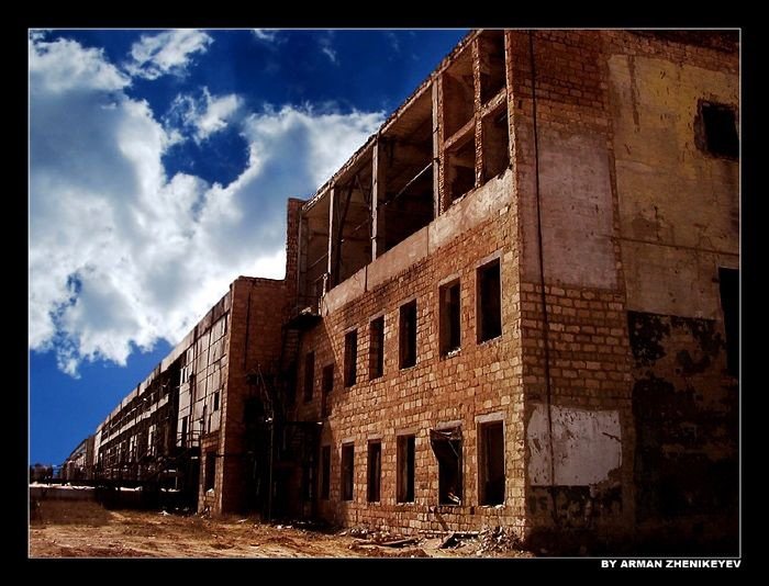 "photo ""Industrial landscape-2"" tags: architecture, landscape,"