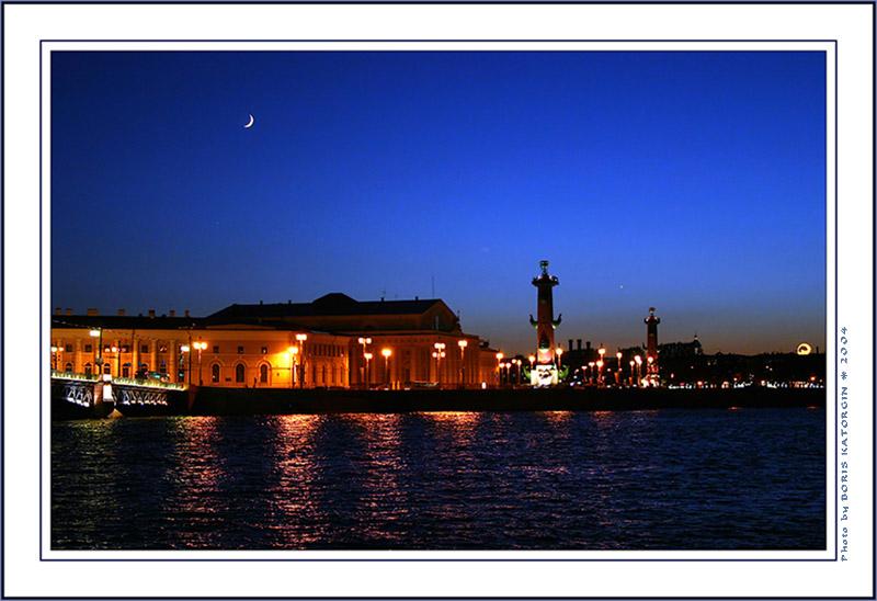 "фото ""Ночная Нева"" метки: архитектура, пейзаж, ночь"