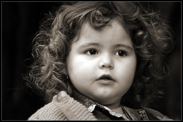 "photo ""curly #2"" tags: portrait, children"