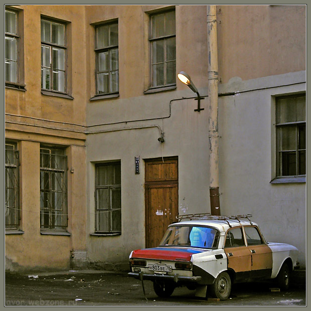 "photo ""Old city car"" tags: travel, misc., Europe"