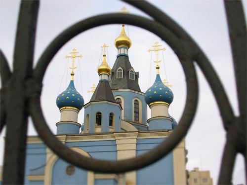 """фото """"За церковным забором"""" метки: архитектура, жанр, пейзаж,"""