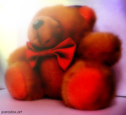 "photo ""taddy bear"" tags: macro and close-up, humor,"