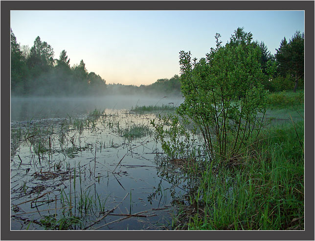 "photo ""Morning."" tags: landscape, water"