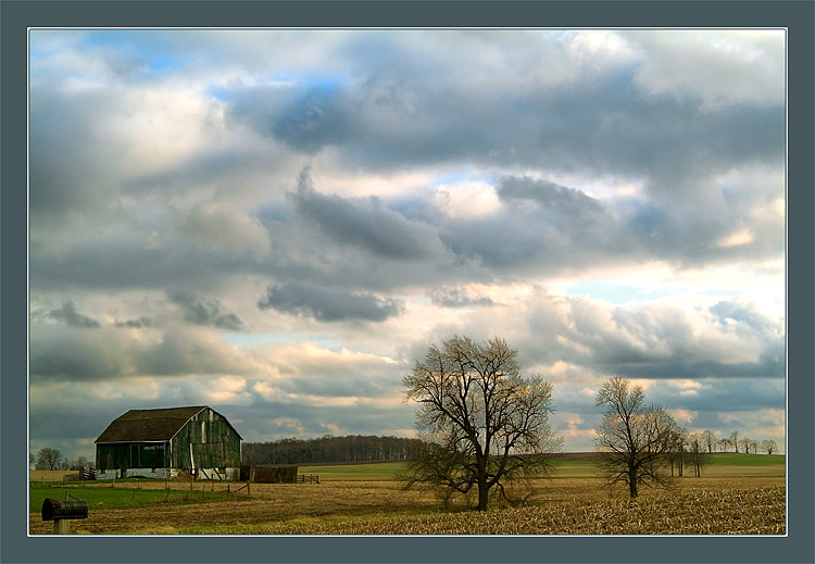 "photo ""The feeling of May"" tags: landscape, clouds, spring"
