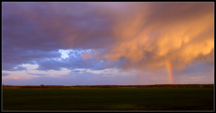 "photo ""In&Jan"" tags: landscape, clouds, sunset"