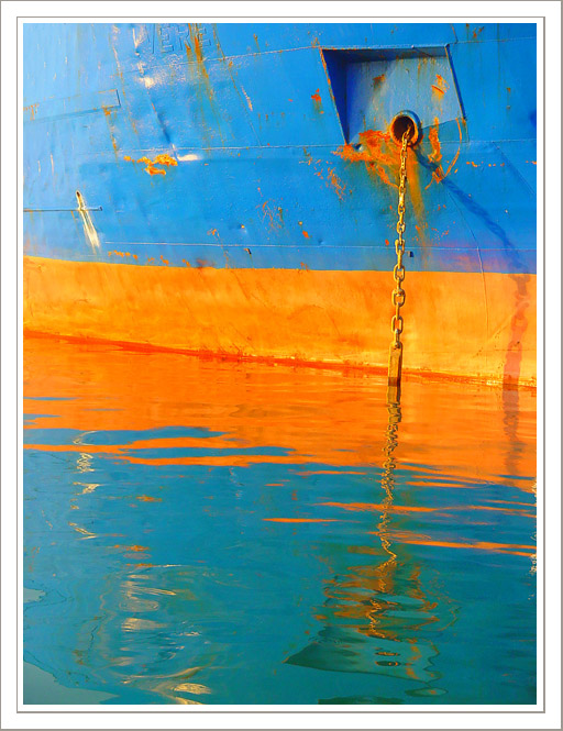 "photo ""Ship and reflection (II)"" tags: misc.,"