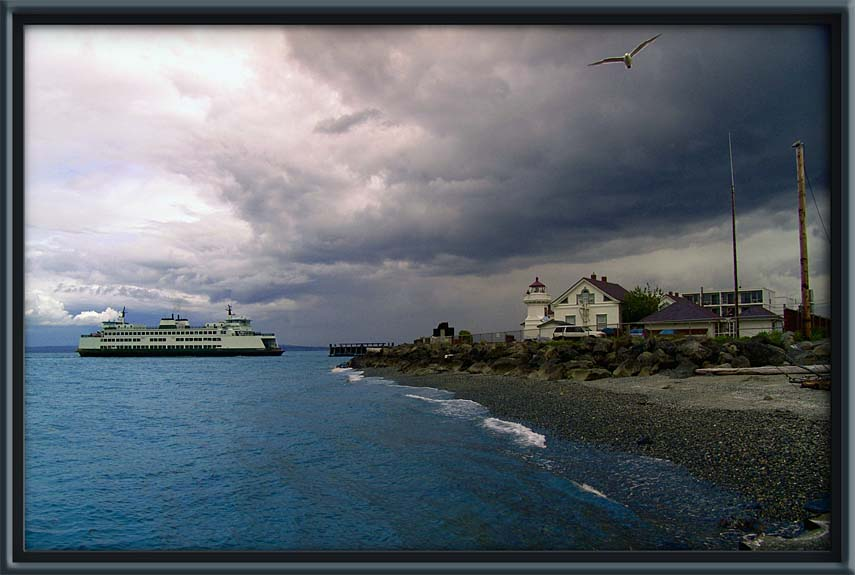 "photo ""Arriving With Storm"" tags: landscape, clouds, water"
