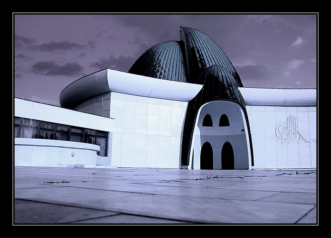 "photo ""The Mosque in Zagreb"" tags: architecture, landscape,"