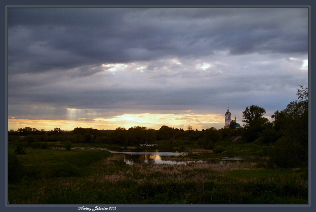 "photo ""Old Kolomna"" tags: landscape, architecture, sunset"